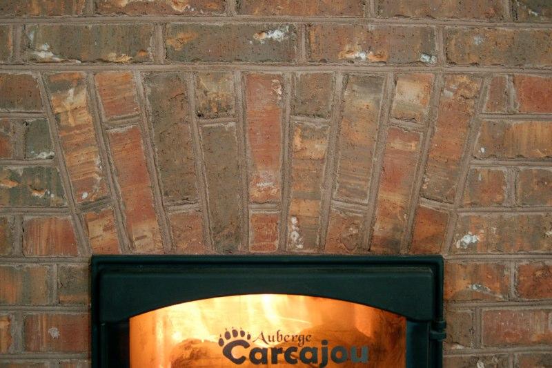 Foyer de masse Feu vert Aubege Carcajou