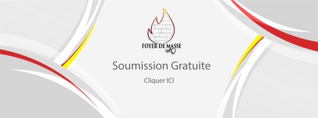 Bouton Soumission Gratuite