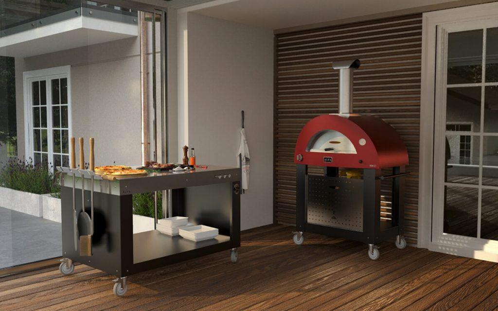 brio pizza oven outdoor kitchen 1200x750